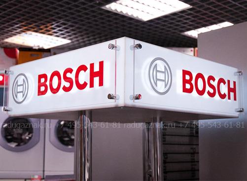 Производство торгового оборудования для «BOSH»